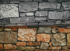 Decoration fabric, stone wall, 2 colours, app. 140cm wide