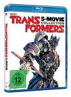 TRANSFORMERS QUADROLOGIE 1-4 COMPLETE COLLECTION 1 2 3 4 BLU-RAY DEUTSCH