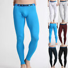 WINTER WARM Men's Sexy Skinny Cotton Underwear Thermal Pants Long John Leggings