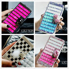 Bling Crystal Diamond Cover Flip Wallet Leather Case For Samsung Galaxy S3 S4 S5