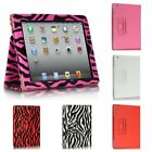 NEW LEATHER SMART STAND FOLIO FLIP CASE COVER FOR APPLE IPAD MODEL 2 3 4 GEN
