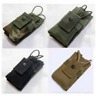 New Airsoft Molle Belt Tactical Short Radio Pouch Bag Black/OD/Marpat