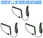 1, 2, 3 Micro USB Car Charger For KYOCERA HYDRO ICON C6730 Phone