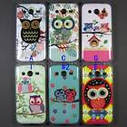 Cute Owl TPU Soft Case Back Cover Skin For Samsung Galaxy Ace 4 Ace NXT SM G313H