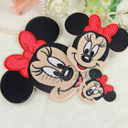 Kids Gifts Minnie Embroidered Iron Sew On Patch Applique Embroidery Badges Logo