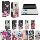 Premium Leather Phone Wallet Stand Cover Case For Samsung Galaxy Mobile Phone