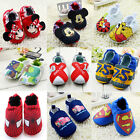 Classic Various Baby boy gril Crib Shoes soft soled Shoes newborn to 18 month