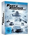 2FAST AND & FURIOUS 1-8 STAFFEL 1 2 3 4 5 6 7 8 MOVIE COLLECTION BLU-RAY DEUTSCH