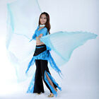 NEW Egyptian Egypt Professional Belly Dance Costume 360° Isis Wings 9 colors