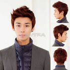 4 color Handsome boys wig Korean fashion men's short false hair Cosplay wigs