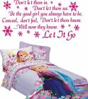 Frozen Disney quote wall art stcker Let it go lyrics