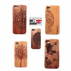 Natural Material Handmade Real bamboo wooden phone case cover for iphone 5/5s !!