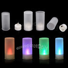 7 Colors LED Light Flameless Candle Lamp Tea Light Flicker Wedding Party Decor
