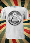 Illuminati Mason Masonic Dollar Pyramid Eye T Shirt Men Women Unisex 1309