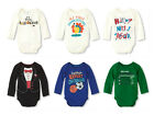 New The Children's Place Boy's Long Sleeve Bodysuit Shirt Top (0-3-6-9-12-18)