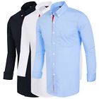 Hombre Tops Diseñador Polo Manga Slim Fit Larga Camisas Casual Camisas Formales