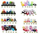 Baby Kids Socks, Boys & Girls Trainers, Fake Shoes, Mary Jane, Cool Skull  6M-3Y