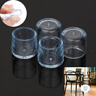 1 Set 4Pcs Rubber Furniture Table Chair Leg Floor Feet Cap Cover Protector Round