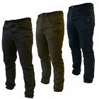 Bakers Mens Cargo Pants Work Combat Trousers Casual Chinos 30 32 34 36 38 40
