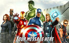 THE AVENGERS Movie Edible image Cake topper Decoration