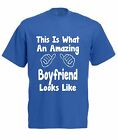 THIS IS WHAT AN AMAZING BOYFRIEND LOOKS LIKE T-SHIRT Valentines Day Present