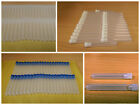 Plastic test tubes powder craft test tubes 75 x12mm with caps FREE P&P UK SELLER