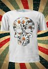 DAISY SKULL Skeleton FLOWERS Tumblr Fashion T Shirt Men Women Unisex 1793