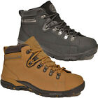 MENS NEW SAFETY BOOTS WOMENS STEEL TOE CAP WORK SHOES LACE UP LEATHER TRAINERS