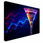 Colourful cocktail Canvas Art Cheap Wall Print Home Interior