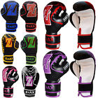 Junior Boxing Gloves Children Sparring PunchBag Mitts Gloves Kids 4,6,8 OZ