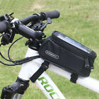"Roswheel Cycling Bike Bicycle Frame Front Tube Bag Pannier for 4.8"" Mobile Phone"