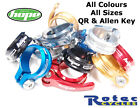 Hope Seat Clamps Allen Key Bolt or Quick Release QR EVERY COLOUR & SIZE