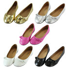 Kids Girls Ballet Flats Cute Casual Slip On Dress Shoes Comfy Flat Shoes