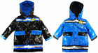 Wippette Boys Toddler Hooded Police Raincoat Jacket size 2T 3T 4T
