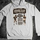 boxing, T-Shirt, Muhammad Ali, Sonny Liston, poster, cassius clay hoodie, cotton