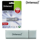 INTENSO ULTRA LINEA VELOCE USB 3.0 ARGENTO FLASH PENNA CHIAVE PASSO CHIAVETTA