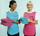 CUSTOM PRINTED TABARD PERSONALISED WITH TEXT OR LOGO CATERING CLEANING TABBARD
