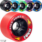 "SURE-GRIP ""Zoom"" Quad Rollerskate Roller Derby Wheels x8 62mm 96a Suregrip"
