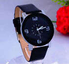 Kyпить Fashion Black & White Leather Luxury Geneva Lady Women Analog Quartz Wrist Watch на еВаy.соm