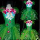 Elsa Disney Frozen Fever (Inspired) Tutu Dress  Ages 2-12 Handmade