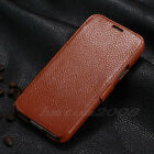 Luxury Wallet Genuine Real Leather Case Cover For Samsung Galaxy S5 SV I9600 NEW