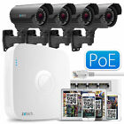 4 960P Cam + Full HD 8 CH Recorder Complete PoE Remote Access IP P2P QR CCTV Kit