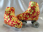 Summer Floral Boot Covers for RollerSkates and Ice Skates  S,M,L