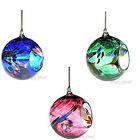 D & J Glassware - HANGING TEA LIGHT GLOBE CANDLE HOLDER - Friendship Ball