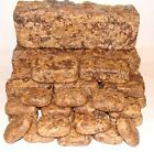 African Black Soap Raw Original Organic Natural Handmade in Ghana w/ Shea Butter