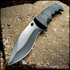 TACTICAL BOWIE ASSISTED OPEN EDC POCKET KNIFE Folding Rescue Blade TAC FORCE VB