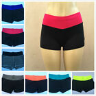 #4835  Spring WOMEN Fitness Tights Waistband workout Exercise Yoga skinny Shorts