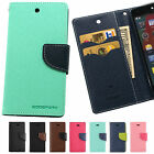 Fancy Diary PU Leather Flip Case Cover Card Wallet For Apple iPhone LG Samsung