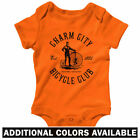 Baltimore Bicycle Club One Piece - Bike Baby Infant Creeper Romper - NB to 24M