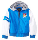 iXtreme Toddler Boys Varsity Teddy Bear Hooded Spring Jacket size 2T 3T 4T